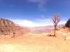 360°-Blick von der Mitte des Abstiegs