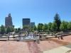 Blick auf Downtown Asheville