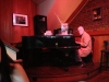 Pianist Steve Whiddon in der Vincenzo Piano Bar