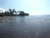 """Ein """"Lava-Strand"""" am Nordufer der Insel"""