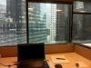 Mein Arbeitsplatz: Fensterplatz im 12. Stock