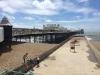 """Der """"Brighton Pier"""". Die Haupttouristenattraktion"""
