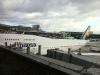 Unsere Boeing 747-400 am Gate in Frankfurt