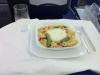 Hauptspeise: Grünes Curry mit Hähnchenbrust, jungem Gemüse, Cashewkernen und Duftreis