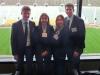 Gruppenbild kurz nach der finalen Präsentation