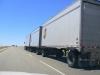 Lastwagen mit drei Anhängern sind in Indiana legal