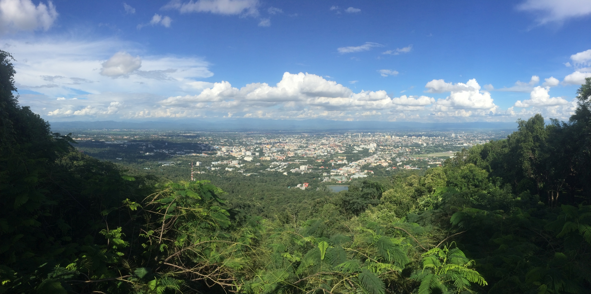 Blick auf Chiang Mai