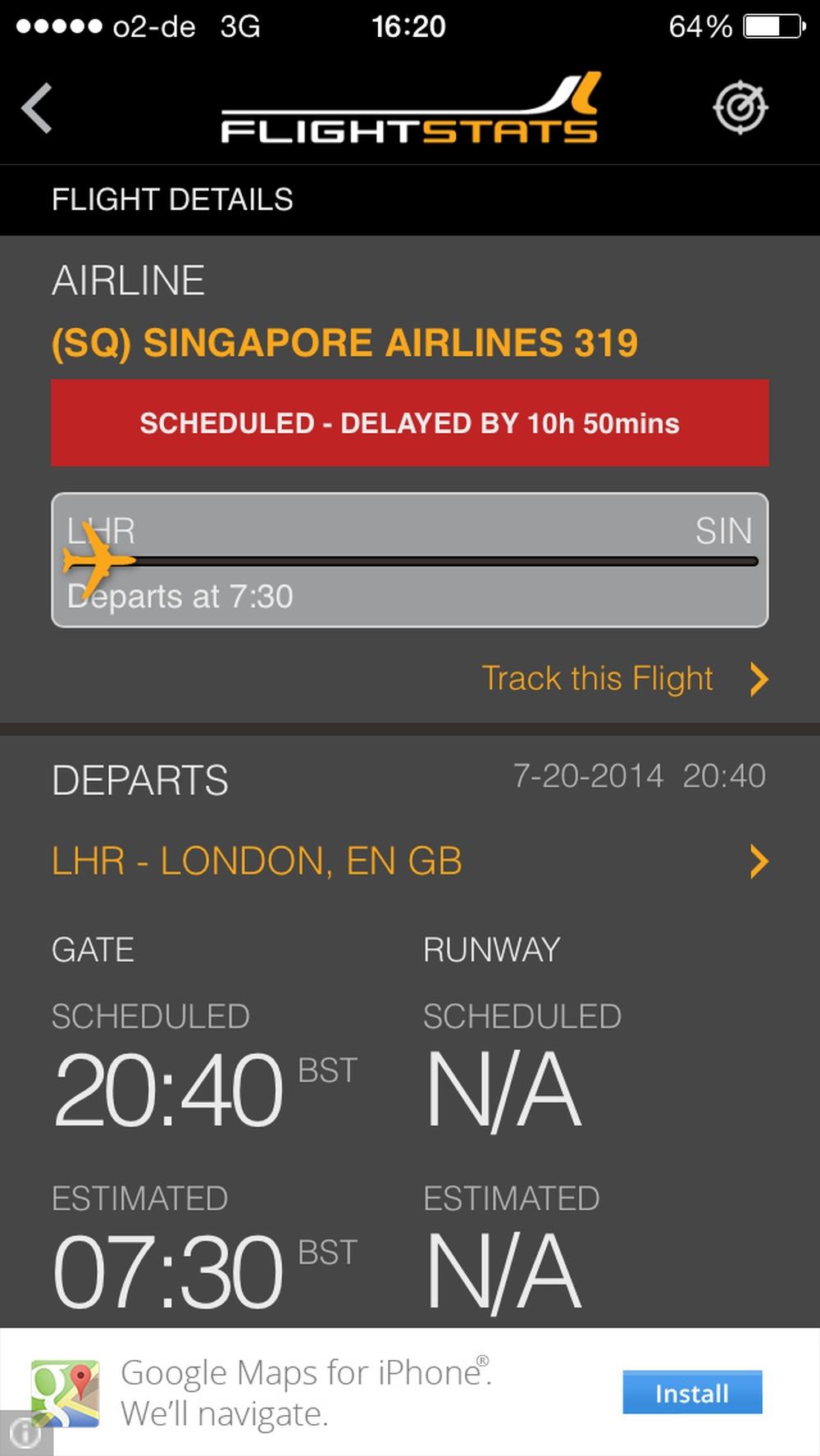 Rückflug leider nicht so sonnig: Knapp 11 Stunden Verspätung wegen einem technischen Defekt