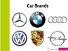 Die Kinder haben alle Automarken erraten, Opel war sogar eine der Erstgenannten