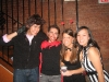 Brian, Mike, Diana und Mandy
