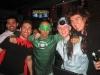 Mike, Luca, ich und Brian