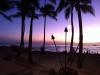 Blick auf den Strand von Waikiki