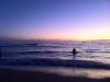 Blick auf den pazifischen Ozean von Waikiki