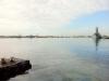 Blick auf die Bucht von Pearl Harbor