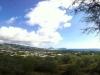Blick über die Insel (Insel Moloka\'i im Hintergrund)