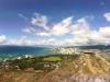 Blick auf Honolulu von der Vulkanspitze. Traumhaft!