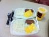 Kurios: Dosenfleisch (Spam), Reis und Rührei als Frühstück bei McDonalds (angeblich ein lokales Leibgericht)