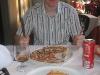 Typisch touristisch: Pizza und Lasagne