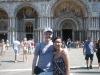 Mandy und ich am Piazza San Marco