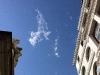 Eine kleine Wolke am letzten Tag