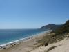 Blick auf die Route 1 und den pazifischen Ozean