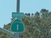 Der berühmte Highway 1 von Los Angeles nach San Francisco