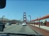 Mit dem Auto über die Brücke