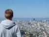 Blick von den Twin Peaks auf Downtown San Francisco