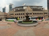 Merdeka Square mit Blick auf das Bangunan Sultan Abdul Samad Gebäude, wo viele Regierungsstellen ansäßig sind