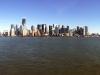 Blick auf die Skyline bei Tag