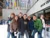 Laura, Diana, ich, Mike, Mandy und Brian