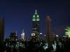 Rooftop-Bar 230 Fifth: Blick auf das Empire State Building (Nacht)