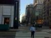 Fußmarsch zur Arbeit: Blick Richtung Midtown