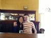Mandy und ich im Palace Cafe