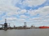 Ölraffinerien an den Ufern des Mississippi River