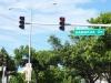 Punkt 10 - An jeder Kreuzung ist der Straßenname klar sichtbar