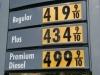 Punkt 16 - Diesel ist teurer als Benzin. Zudem sind Preise in USD pro Gallone angegeben