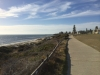 Spaziergang an der Küstenpromenade