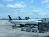 Mit US Airways via Charlotte nach Raleigh