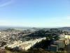 """Blick von \""""Twin Peaks\"""" auf Sued-San Francisco"""