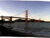 Golden Gate Bridge (Foto vom Land)