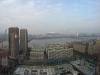 Blick vom Hotelzimmer in Yeouido auf die Innenstadt