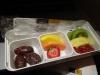 Mein Frühstück an Bord: Nochmal Früchte...