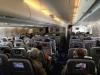A380 von innen: Zehn Sitze (3x4x3) pro Reihe