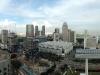 Blick vom Hotelzimmer: Singapur bei Tag