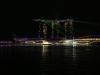 Licht- und Lasershow des Marina Bay Sands