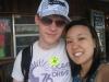 Mandy und ich im Gatorpark