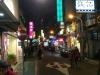"""Kleine Straßen der """"Restaurantmeile"""""""