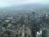 Blick vom Restaurant im 86. Stock