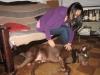 Mandy und Darryl\'s Hund Caesar